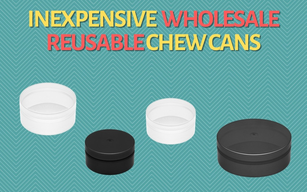 INEXPENSIVE WHOLESALE REUSABLE CHEW CANS