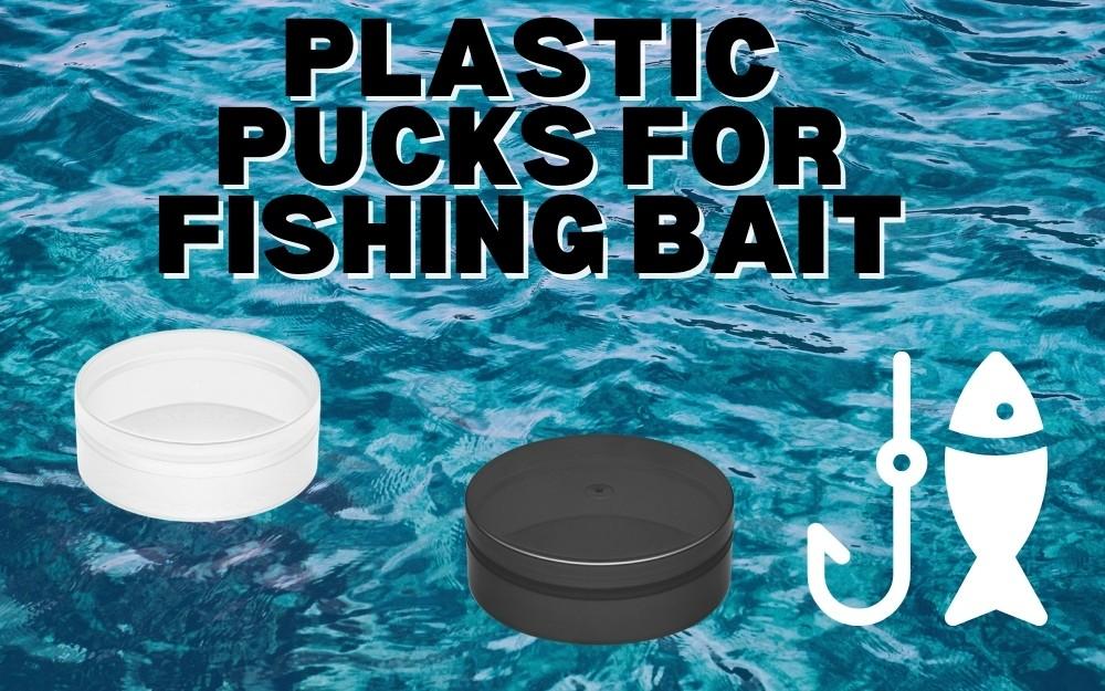 PLASTIC PUCKS FOR FISHING BAIT