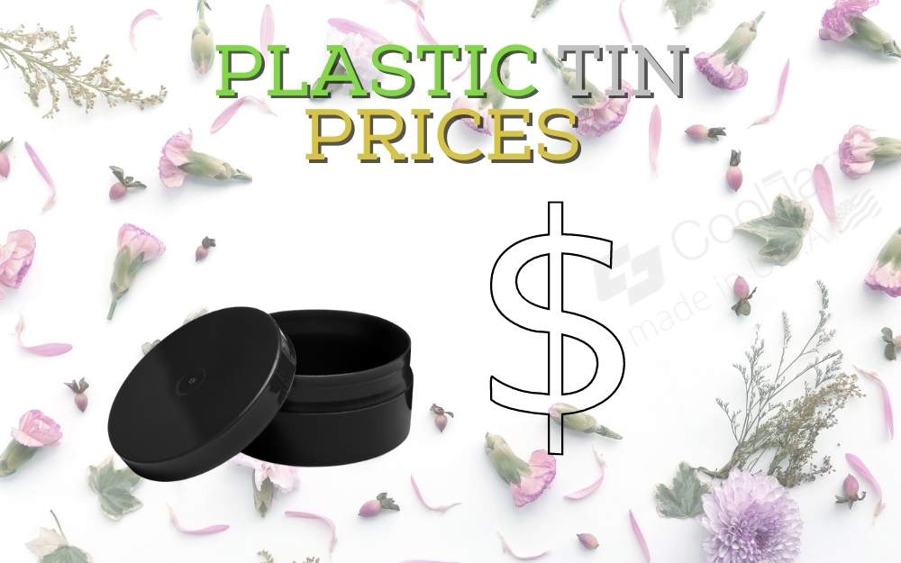 PLASTIC TINS FOR SALVES AND BALMS wholesale price