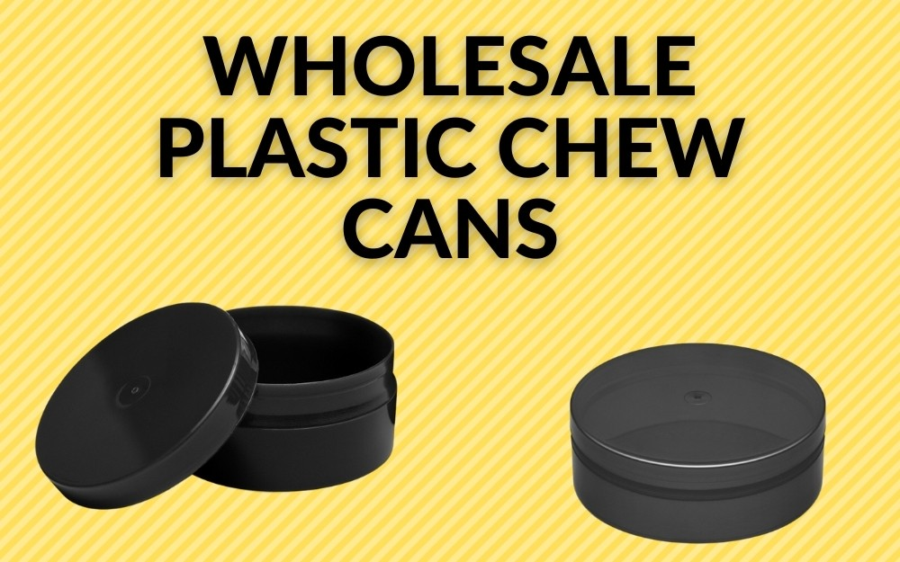 WHOLESALE PLASTIC CHEW CANS