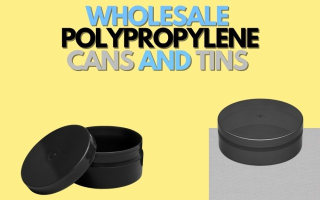 WHOLESALE POLYPROPYLENE CANS AND TINS