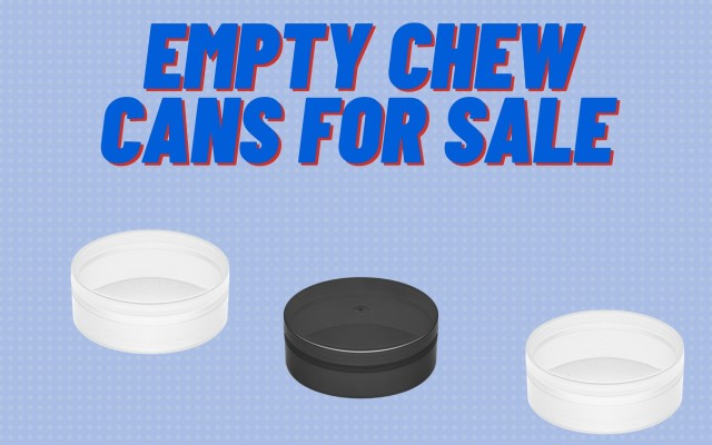 EMPTY CHEW CANS FOR SALE