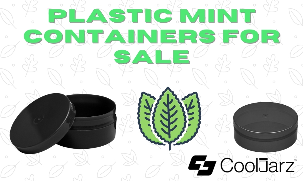 PLASTIC MINT CONTAINERS FOR SALE